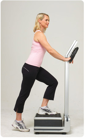 Whole Body Vibration machines keep you fit and trim